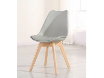 Jídelní židle CROSS šedá