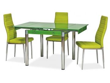 Jídelní stůl GD-082 rozkládací zelený
