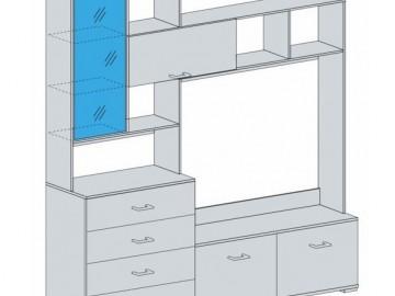 Obývací stěna ROCHEL belfort/wenge