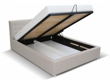 Čalouněná postel LUBNICE VI 160 s ÚP a roštem