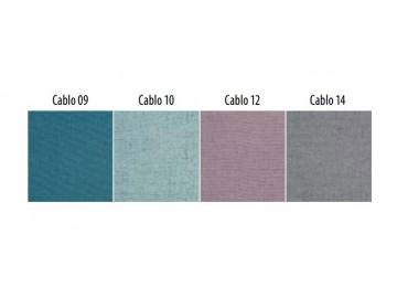 Čalouněné dvojkřeslo NORDIC 2 - výběr barev