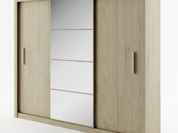 Šatní skříň IDEA sanremo zrcadlo 250 cm