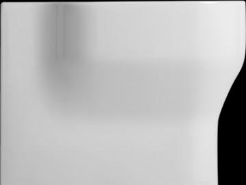Bidet volně stojící GLAZE 52x36 cm