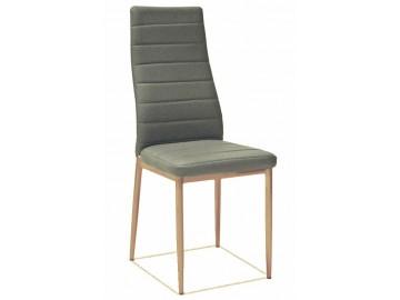 Jídelní čalouněná židle HRON-261 šedá látka