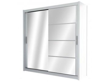 Šatní skříň BRANDON 150 bílá