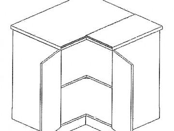 DRP d. rohová skříňka MORENO lefkas/andersen