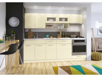 Kuchyně na míru MORENO LUX vanilka lesk