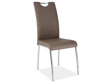 Jídelní čalouněná židle H-822 latte