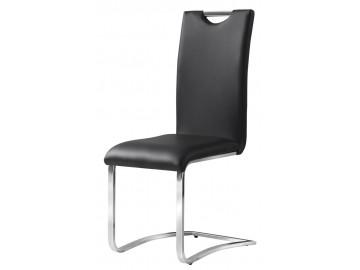 Jídelní čalouněná židle H-790 černá