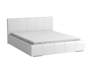 Čalouněná postel CAVALLI 160x200 bílá
