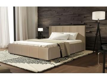Čalouněná postel CAVALLI 140x200 béžová