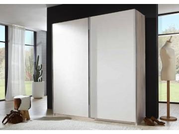 *Šatní skříň CHESS 771 bílá/sanremo