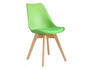 Jídelní židle CROSS zelená