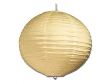 Ecolite DHL400-16/ZLU Koule 40cm-papír. lustr žlutý