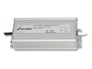Ecolite  DX-WP-150W/IP67 El. trafo,230V-12V,12.5A,150W