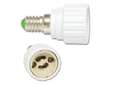 Ecolite  ADAPT-E14/GU10 Redukce z E14 na GU10