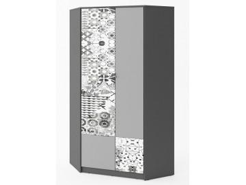 Šatní skříň rohová POK PO-01