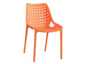 Jídelní židle TERY oranžová