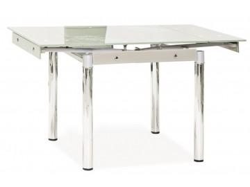 Jídelní stůl GD-082 rozkládací bílý