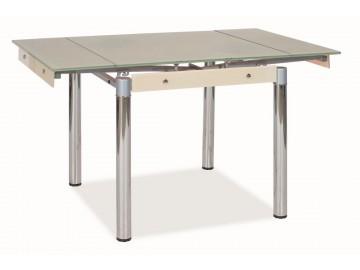 Jídelní stůl GD-082 rozkládací krém