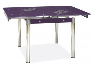 Jídelní stůl GD-082 rozkládací fialový