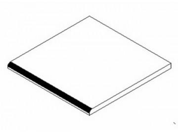 PD do koupelen 30x28 cm bílá
