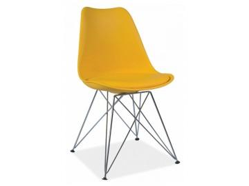 Jídelní židle TIME žlutá