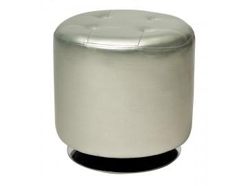 Taburet KROKUS C-901 stříbrný