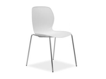 Jídelní židle ESTER bílá