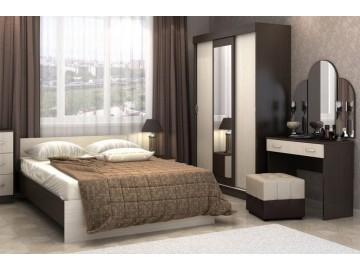 Ložnice BASIA II belfort/wenge