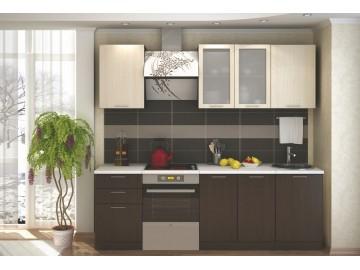 Kuchyně VALERIA 180 wenge/dub bělený