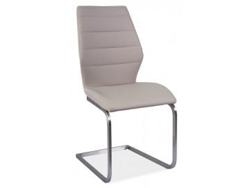 Jídelní čalouněná židle KEVIN cappuccino