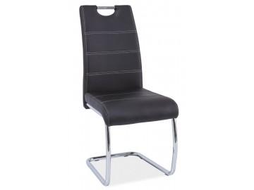 Jídelní čalouněná židle H-666 černá