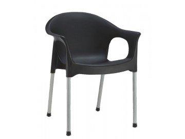 Jídelní židle CAMIN černá