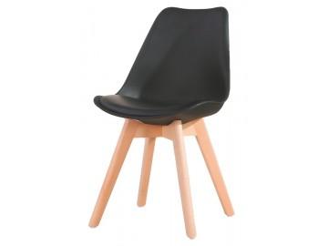 Jídelní židle CROSS černá