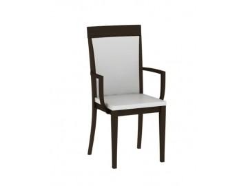 PALAZZO F3 čalouněná židle s područemi wenge