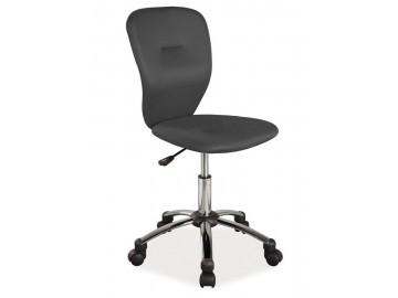 Kancelářská židle Q-037 černá