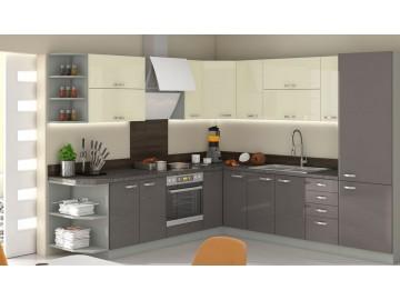 Kuchyně na míru KARMEN GREY