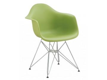 Jídelní židle - křeslo REGIA zelená