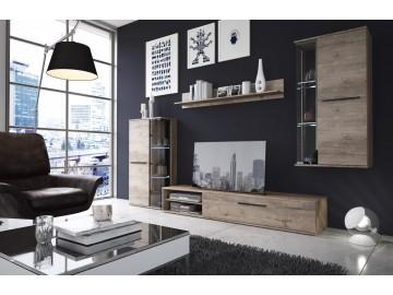 Obývací stěna DAKOTA bez LED osvětlení