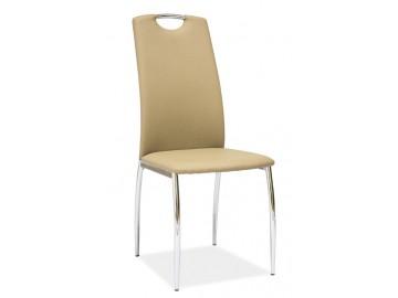 Jídelní čalouněná židle H-622 latte