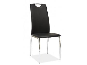 Jídelní čalouněná židle H-622 černá