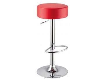 Barová židle KROKUS A-042 červená