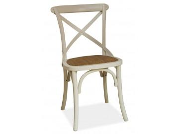 Jídelní dřevěná židle LARS bílá