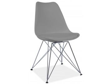 Jídelní židle TIM šedá