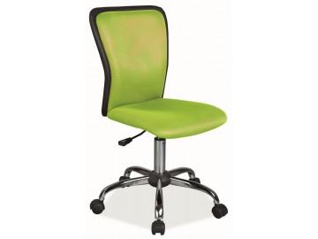 Kancelářská židle Q-099 zelená/černá