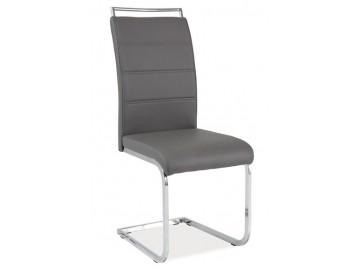 Jídelní čalouněná židle H-441 šedá