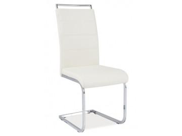 Jídelní čalouněná židle H-441 krémová