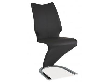 Jídelní čalouněná židle H-050 šedá