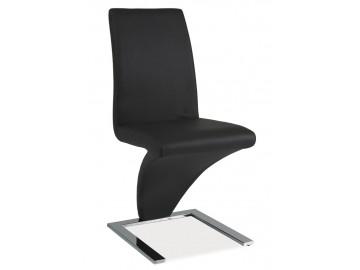 Jídelní čalouněná židle H-010 šedá